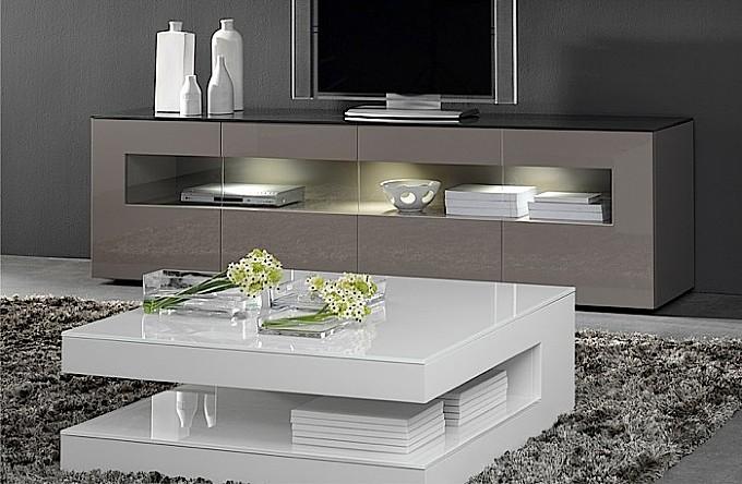wonen tafels salontafels salontafel hoogglans wit