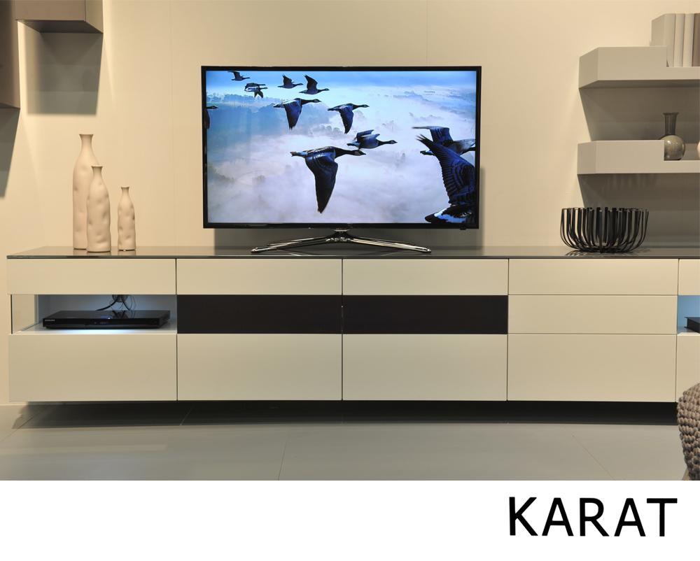 Wonen kasten tv meubelen modern tv meubel for Tv meubel design