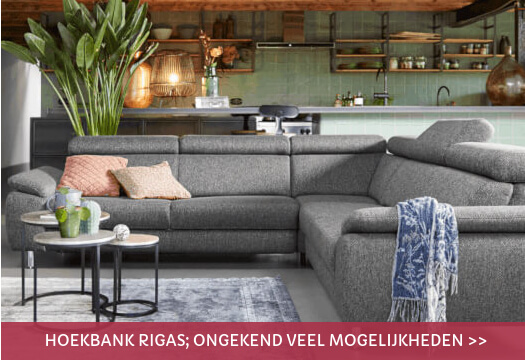 Hoekbank Rigas