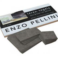 Enzo Pellini wandbekledingset patchwork choco