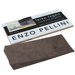 Enzo Pellini wandbekledingset groot choco