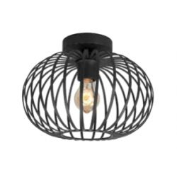 Plafondlamp Bolato Zwart Klein