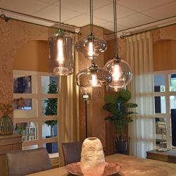 Hanglamp Bulbs grey