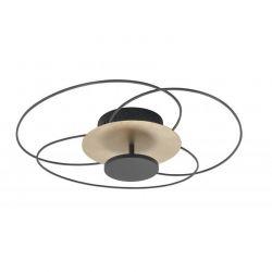 Plafondlamp Fiore zwart
