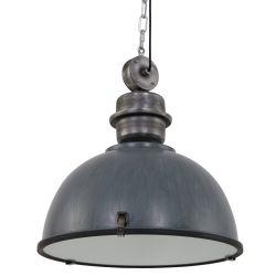 Hanglamp Bikkel Grijs Groot