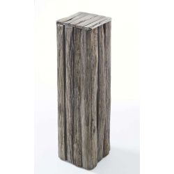 Pedestal Abrega antique grey wash h100