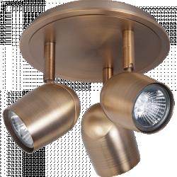 Plafondlamp Ovale 3L