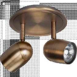 Plafondlamp Ovale 2L