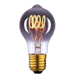 E27 LED filamentlamp - 9W dimbaar - smoke