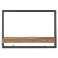 Shelfmate wandplank teakhout type C