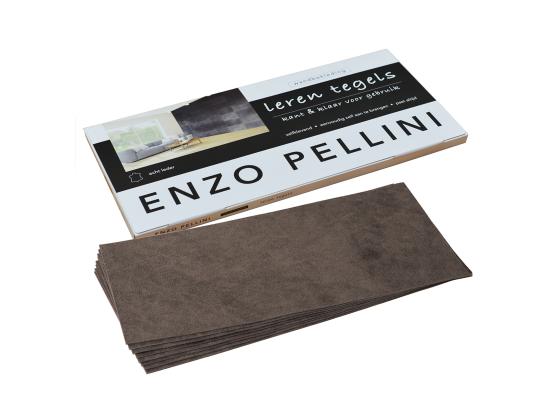 Enzo Pellini wandbekledingset groot marron