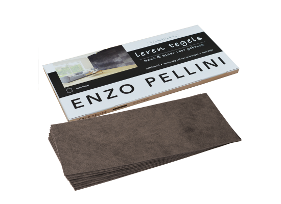 Enzo Pellini wandbekledingset groot antraciet