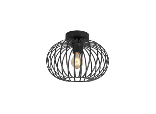 Plafondlamp Bolato Zwart Groot