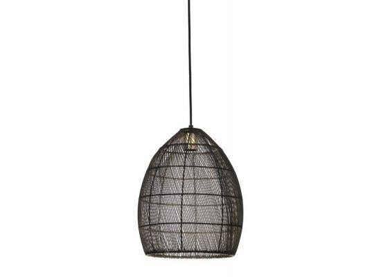 Hanglamp Marola zwart goud