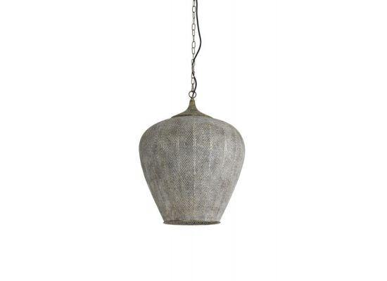 Hanglamp Olbia goud wit